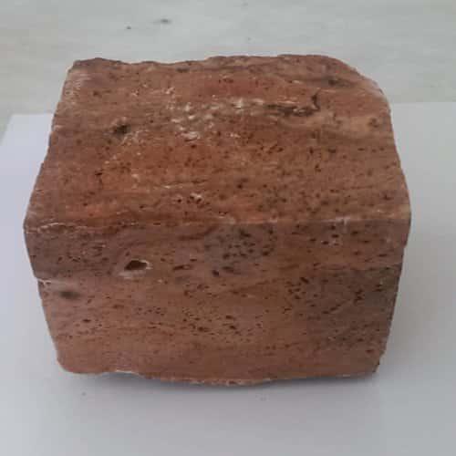 سنگ کوبیک تراورتن قرمز